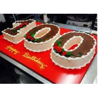 100 Number Customize  Cake