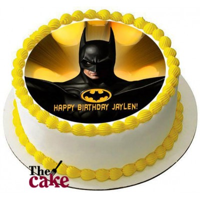 Batman Super Hero Cake