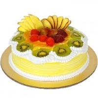 Fresh Fruit Cake