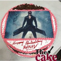 Krish Superhero Photo Cake