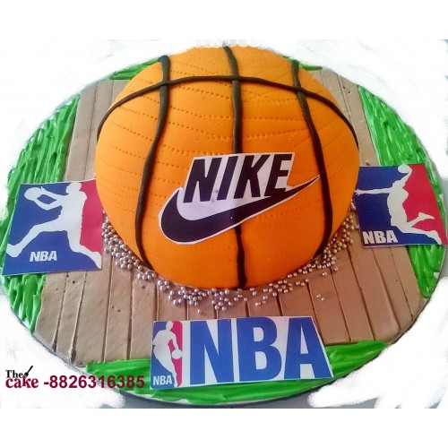 NBA Basket Ball Cake