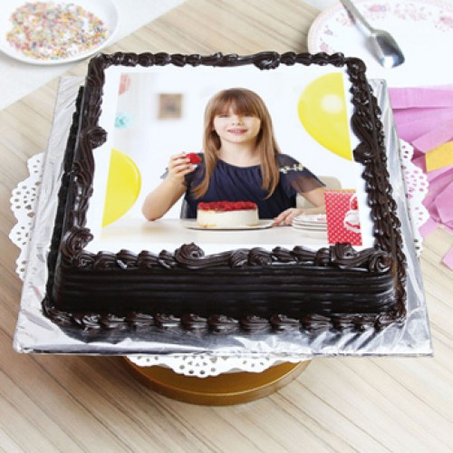 Personlised Photo Cake