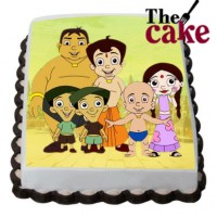 Chhota Bheem & Friends Cake