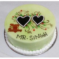 Two Heart Cake