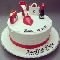 Beauty Designer Cake