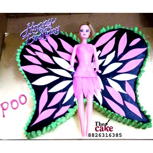 Angel Theme Cake