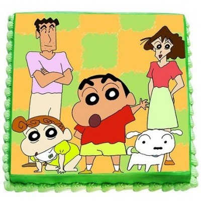 ShinChan Photo Cake